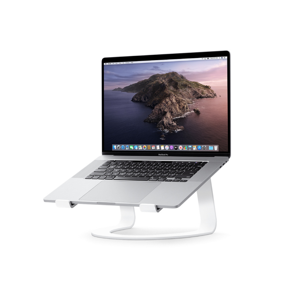 Base curve for Macbook-Stand